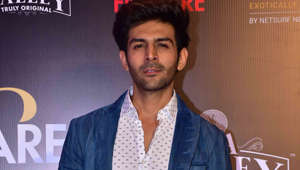 Kartik Aaryan spotted riding a bike without helmet again