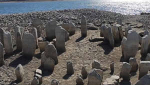 Drought has revealed lost 'Spanish Stonehenge'