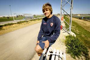 Teemu Pukki Sevillassa vuonna 2008, 18-vuotiaana.