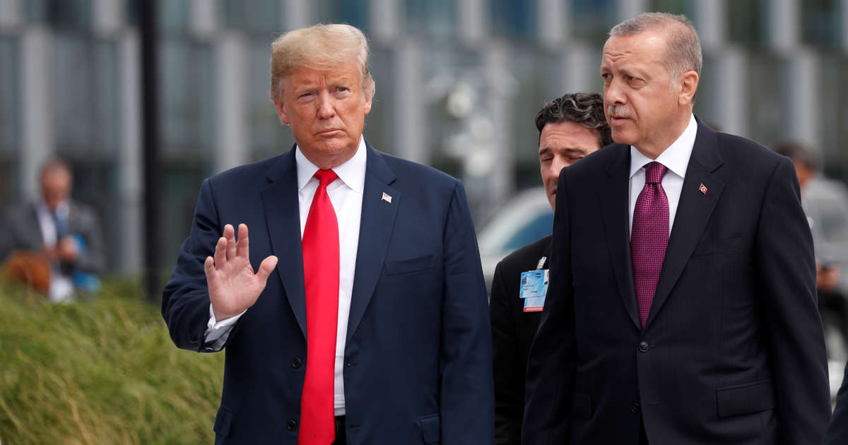 Trump warned Erdogan in an Oct 9 letter: 'Don't be a tough guy'