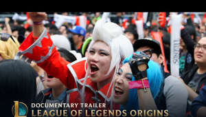 The League of Legends Origins documentary is available now on Netflix and other video platforms.  Watch the trailer for League of Legends Origins, a documentary by Academy Award nominated filmmaker, Leslie Iwerks. This full-length film offers a peek behind the scenes during the early days of League of Legends, from 2006 - 2017. League of Legends Origins tells the story of how dedicated players and passionate but inexperienced developers together built a game to become the world's most played PC game and the world's largest esport.  Created by Iwerks & Co in conjunction with Riot Games.  Learn about where to watch here: https://na.leagueoflegends.com/en/news/game-updates/special-event/where-watch-league-legends-origins-doc