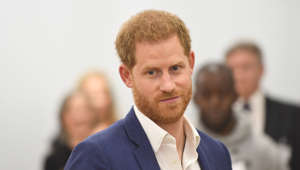 NOTTINGHAM, UNITED KINGDOM – OCTOBER 10: Prince Harry, Duke of Sussex during his visit to the Community Recording Studio in St Ann's to mark World Mental Health Day on October 10, 2019 in Nottingham, United Kingdom. (Photo by Joe Giddens – WPA Pool/Getty Images)