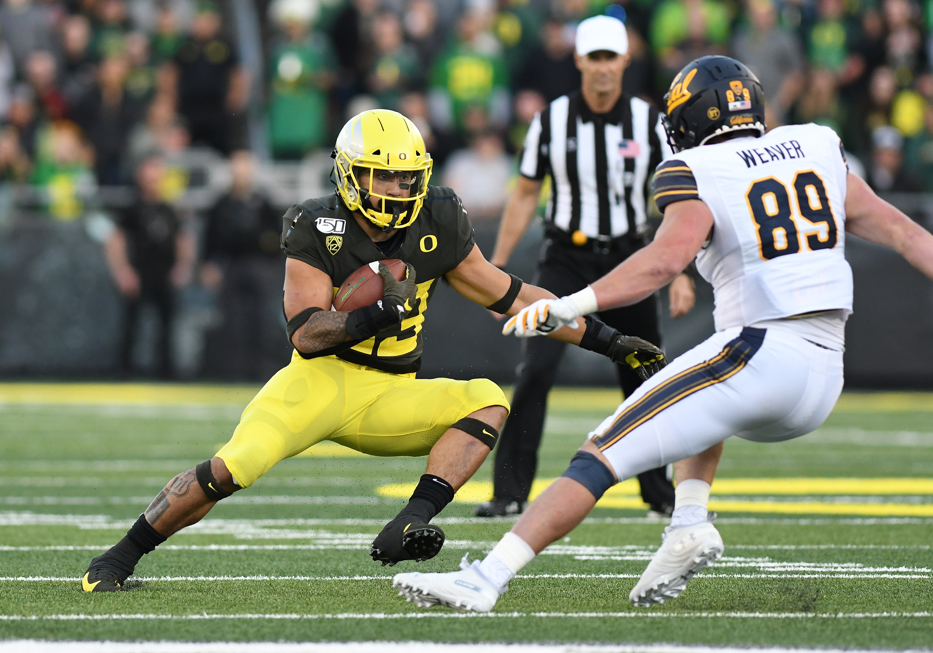 How Cyrus Habibi-Likio livened up the proceedings during Oregon's ugly win