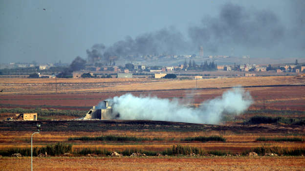 Turkey launches offensive against U.S.-allied Kurdish forces in northern Syria