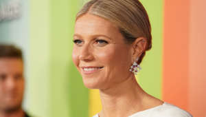 Gwyneth Paltrow wearing a white shirt