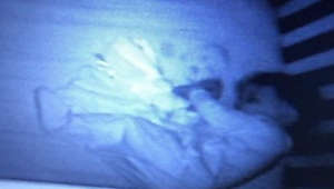Mom sees 'ghost baby' in son's crib, but the explanation is hilarious!