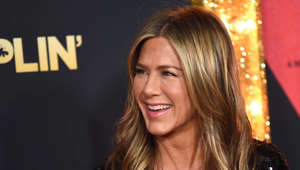 a close up of Jennifer Aniston
