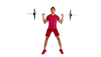 Angle-Based Images: Barbell Jump Squat Video