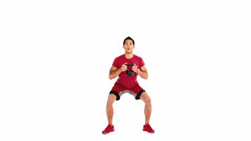 Angle-Based Images: Kettlebell Squat Video