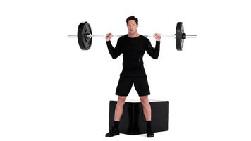 Angle-Based Images: Barbell Box Squat Video