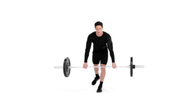 Angle-Based Images: Single-leg Barbell Deadlift Video