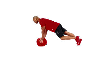 Angle-Based Images: Medicine Ball Mountain Climber Video