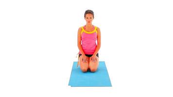 Imágenes con ángulo: Kneeling, Toes Tucked Pose vídeo