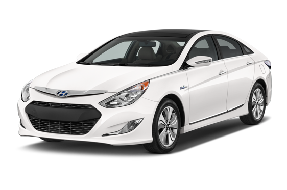 Slide 1 of 14: 2015 Hyundai Sonata Hybrid