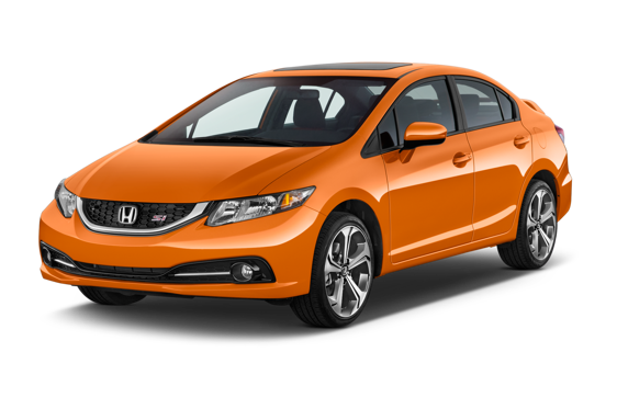 Slide 1 of 14: 2015 Honda Civic Sedan
