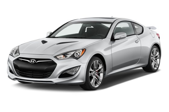 Slide 1 of 14: 2015 Hyundai Genesis Coupe
