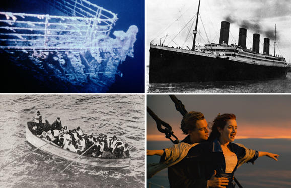 Slide 1 of 21: Titanic tragedy in photos