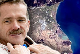 Chris Hadfield, Blenheim, New Zealand