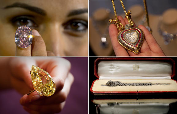 Lysbilde 1 av 19: Most expensive jewellery in the world