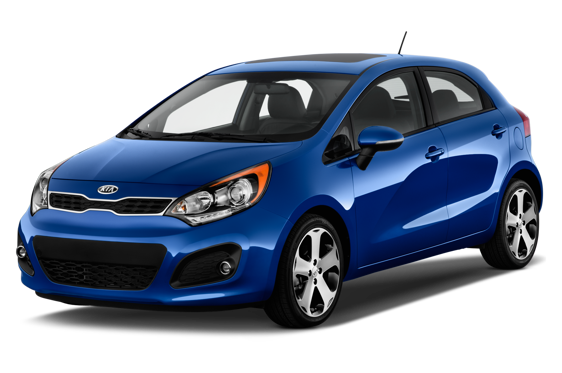 Slide 1 of 14: 2014 Kia Rio 5-Door