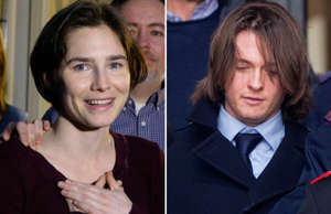 Amanda Knox and Raffaele Solecito