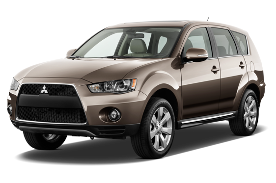 Slide 1 of 14: 2010 Mitsubishi Outlander