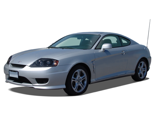 Slide 1 of 14: 2005 Hyundai Tiburon