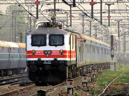 The New Delhi-Bhopal Shatabdi is the fastest train on the Indian Railways network.