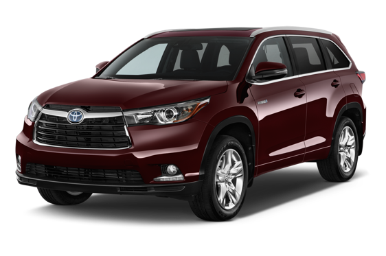 Slide 1 of 14: 2015 Toyota Highlander Hybrid