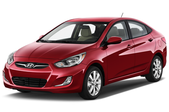 Slide 1 of 14: 2014 Hyundai Accent Sedan
