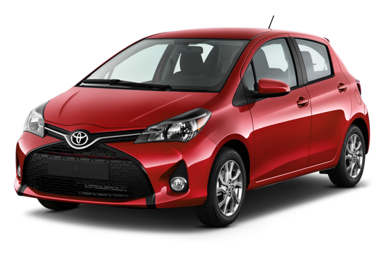Slide 1 of 14: 2014 Toyota Yaris Hatchback