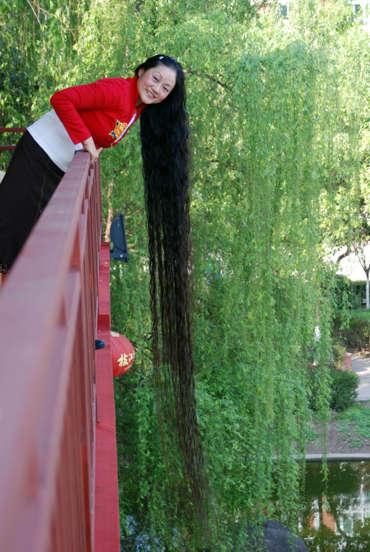 sveriges längsta hår