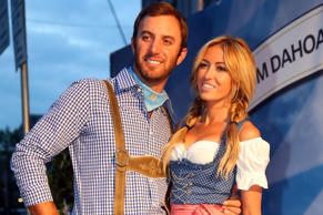 Dustin Johnson and Paulina Gretzky