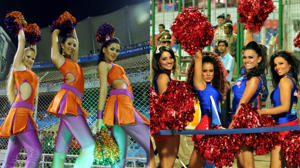 IPL Cheerleaders: Glitz, glamour and glitter