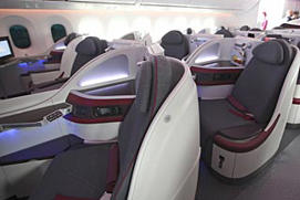 Qatar Airways will begin business-class-only flights from Heathrow to Doha in May.