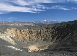 UNSPECIFIED - AUGUST 14:  USA, California, Death Valley National Park, Ubehebe Volcano, extinct crater
