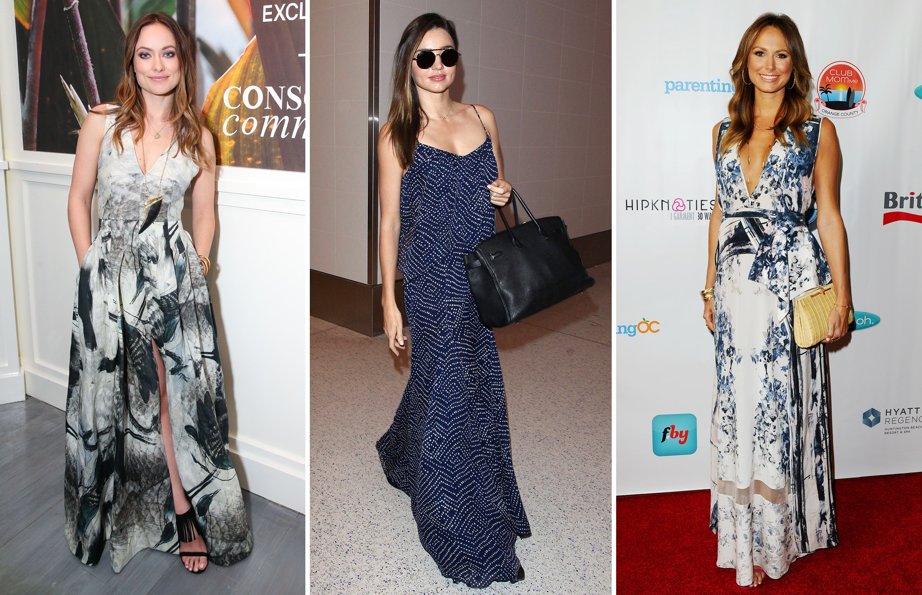 Celebrity Maxi Dress
