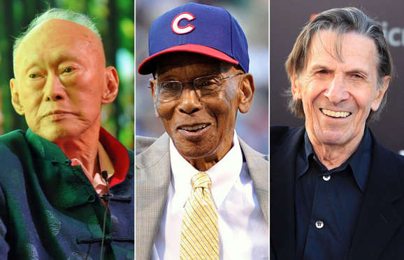 Famous people we lost in 2015