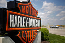 A Harley-Davidson Inc.dealership in Kansas City, Missouri.