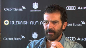 Automata: Antonio Banderas & Gabe Ibanez Exclusive Interview at Zurich Film Festival Part 2 of 2