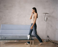 People who are constantly in motion — crossing and uncrossing their legs, stretc...