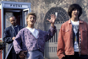 'Bill and Ted's Excellent Adventure' -  George Carlin, Alex Winter, Keanu Reeves