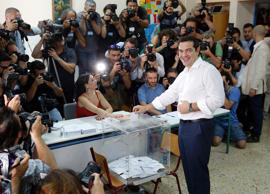 Greece votes on historic bailout referendum