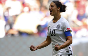United States captain Carli Lloyd.
