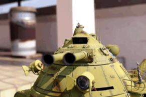 This 3D-printed walking tank is the world's ultimate toy