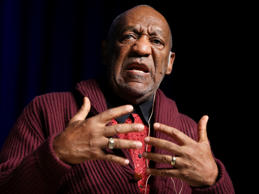 n this Nov. 6, 2013 file photo, comedian Bill Cosby performs at the Stand Up for Heroes event at Madison Square Garden, in New York. /Invision/AP, File)