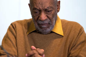 In this Nov. 6, 2014 file photo, entertainer Bill Cosby pauses during a news conference. Cosby admitted in a 2005 deposition that he obtained Quaaludes with the intent of using them to have sex with young women.
