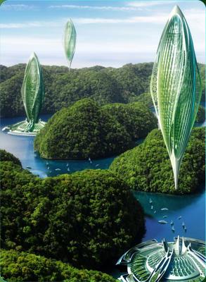 Increibles ciudades y diseños futuristas