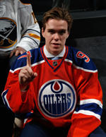 Connor McDavid was chosen first by the Oilers at the 2015 NHL Draft at BB&T Center on June 26, 2015 in Sunrise, Florida.