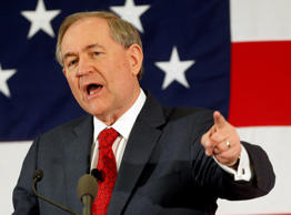 Former Virginia Governor Jim Gilmore in Nashua, New Hampshire, April 17, 2015.